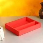 """Кашпо деревянное 25.5×20×4.5 см """"Макарунас"""", розовый светлый Дарим Красиво - фото 830563"""