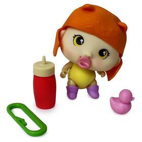 Пупсик «Крошки-Горошки» с одеждой, аксессуарами, цвета МИКС