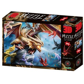 "3D Puzzle 500 El. ""The dragon clan"" 6+ 10328"