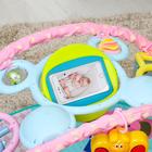 Развивающий коврик «Наш малыш» с дугой для планшета/телефона - фото 105523340