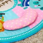 Развивающий коврик «Наш малыш» с дугой для планшета/телефона - фото 105523343