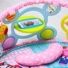 Развивающий коврик «Наш малыш» с дугой для планшета/телефона - фото 106337604