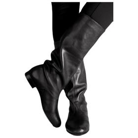 Сапоги народные мужские, кожа, размер 39, цвет чёрный