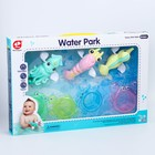 Набор  для купания «Плаваем вместе», 3 игрушки и стаканчики - фото 105533780