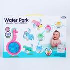 Набор  для купания «Плаваем вместе», 3 игрушки и стаканчики - фото 105533781