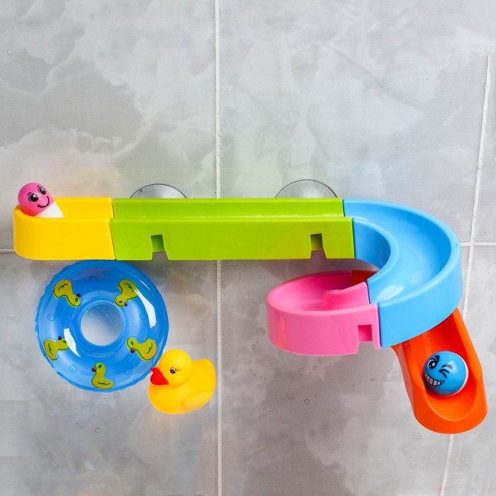 Набор игрушек для купания «Игровая горка»