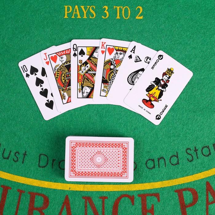 """Карты игральные бумажные """"Strip"""", 54 шт, 250 гр/м2, микс - фото 700380039"""