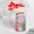 "Electronic candle ""Santa Claus"", 5 x 10 cm"