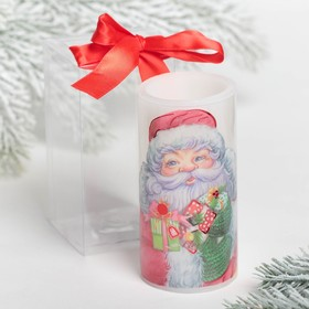 Свеча светодиодная восковая «Дед Мороз»