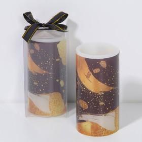 Свеча светодиодная восковая «Абстракция»