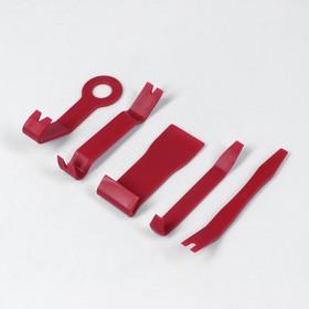 Набор инструмента по пластику усиленный, 5 предметов