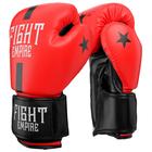 Перчатки боксёрские детские FIGHT EMPIRE, 8 унций, цвет красный
