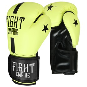 FIGHT EMPIRE Boxing Gloves for Children, 8 oz, light green