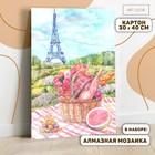 """Роспись по номерам без подрамника и алмазная вышивка """"Пикник в Париже"""", 30 х 40 см"""