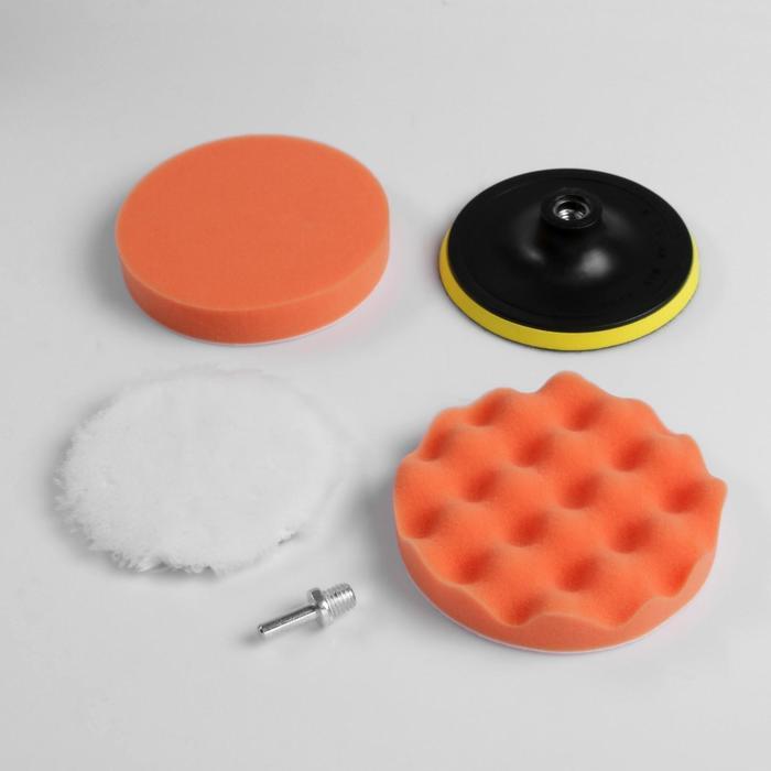Круг для полировки TORSO, 150 мм, набор 5 предметов