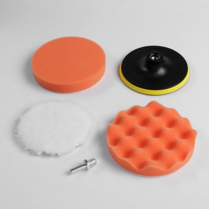 Набор для полировки кузова TORSO, 150 мм, 5 предметов