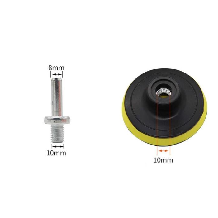 Круг для полировки TORSO, 180 мм, набор 5 предметов