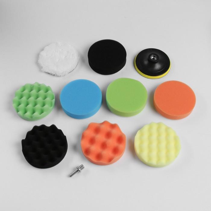 Круг для полировки TORSO, 125 мм, набор 11 предметов