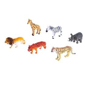 Набор животных «Африка», 6 фигурок