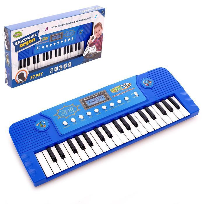 Синтезатор «Яркий день», 37 клавиш, с микрофоном