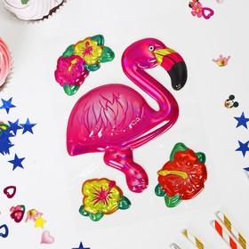 Наклейки на воздушные шары «Фламинго»