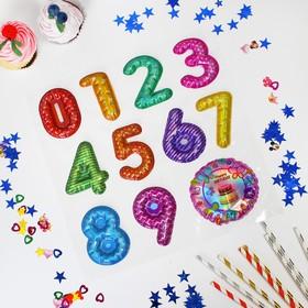 Наклейки на воздушные шары «Цифры»