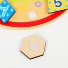 """Деревянная игрушка """"Волшебные часы"""" (3 комплекта липучек) 22,5х23х7 см - фото 105592029"""