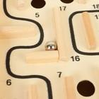 Деревянная игра «Лабиринт» (2 шарика) 26х30х7 см - фото 1027404