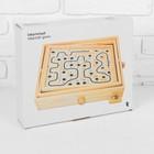 Деревянная игра «Лабиринт» (2 шарика) 26х30х7 см - фото 1027406