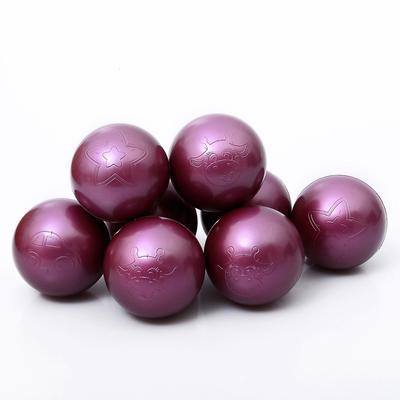 Набор шаров для сухого бассейна 500 шт, цвет: вишня металлик