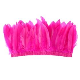 Карнавальный головной убор «Индеец», с перьями, цвет фуксия Ош