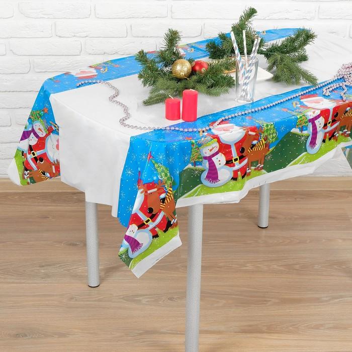 "Tablecloth ""New year"" 108х180 cm"