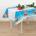 "Tablecloth ""Santa Claus with gifts"" 108х180 cm"