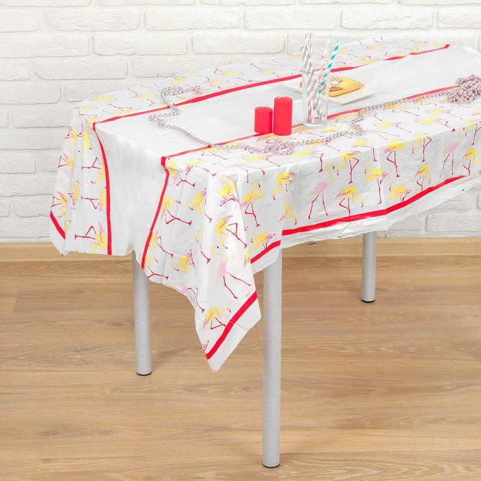 Скатерть «Фламинго», 108х180 см - фото 308014745
