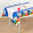 """The tablecloth """"the Unicorn in the crown"""" 108х180 cm"""