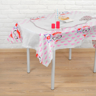 "Tablecloth ""Lips"" 108х180 cm"