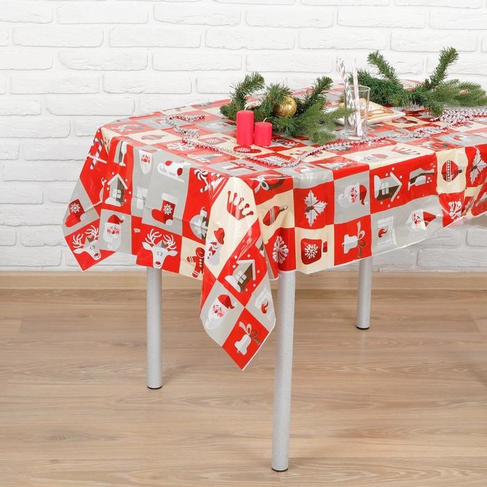 "Tablecloth ""happy New Year"" 108х180 cm"