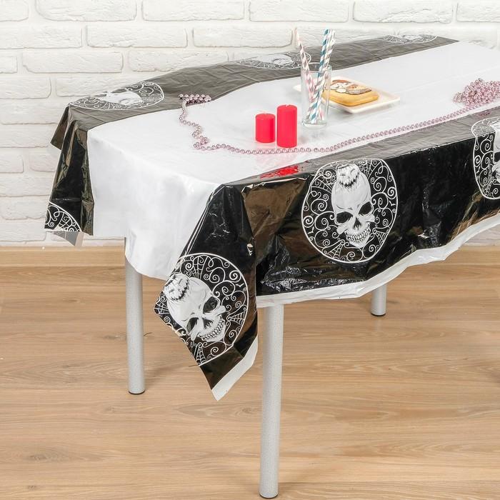 """Tablecloth """"Skull"""" 108х180 cm"""