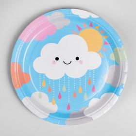 "The paper plate is ""Cloud"" set of 10 PCs"