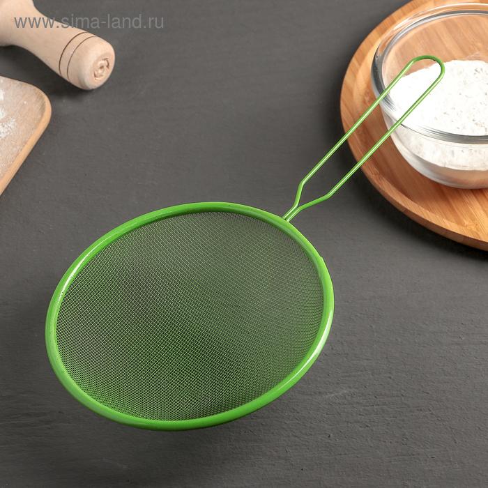 """Sieve with handle """"Paint"""" diameter 16 cm, color MIX"""