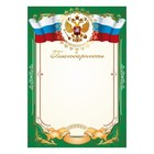 "Thanks to ""Universal"" symbols of the Russian Federation, a green frame"