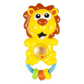 Погремушка «Львенок», со светом и звуком