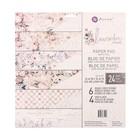 "Набор бумаги для скрапбукинга двухсторонней ""Prima Marketing"" Lavender Frost, 24л, 30.5x30.5   44705"