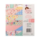 "Набор бумаги для скрапбукинга ""Prima Marketing"" Traveling girl, 30 листов, 15х15 см"