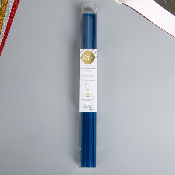 "Тонерочувствительная фольга для MINC ""Heidi Swapp""   «Синий» - BLUE  - 31.12х305 см"