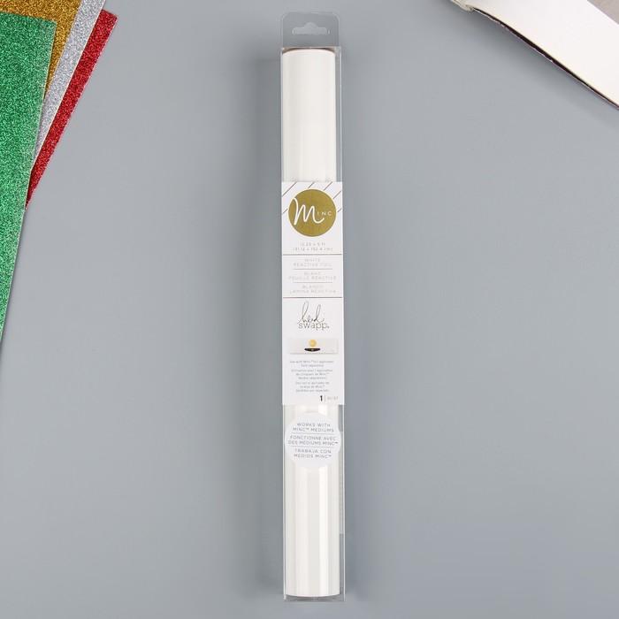 "Тонерочувствительная фольга для MINC ""Heidi Swapp""  White - 31.12х152.4 см"