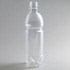 Бутылка, 0,5 л, ПЭТ, без крышки, 100 шт/уп, цвет прозрачный