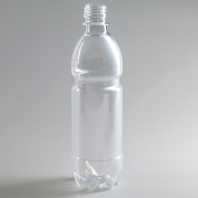 0.5 l bottle, PET, clear, without lid