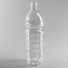Бутылка, 1 л, ПЭТ, без крышки, 100 шт/уп, цвет прозрачный