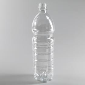 Bottle 1l, PET, transparent, without cover